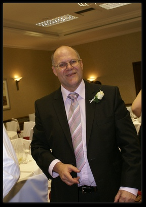 Alan Bowyer the photographer at a wedding
